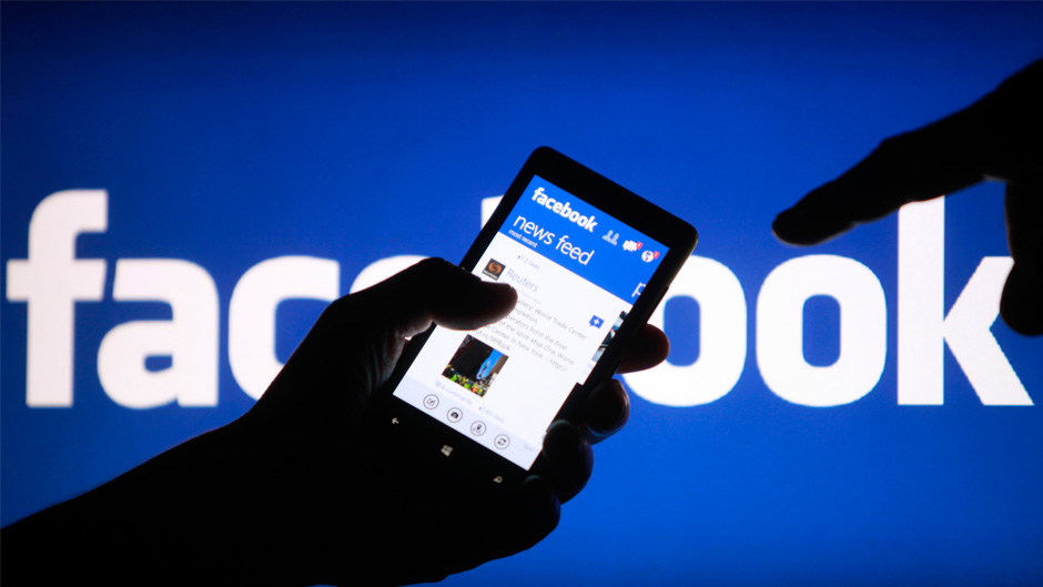 Facebook mobile app being shown off