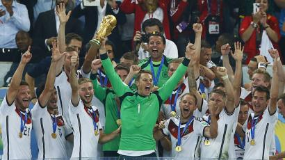 Germany World Cup victory