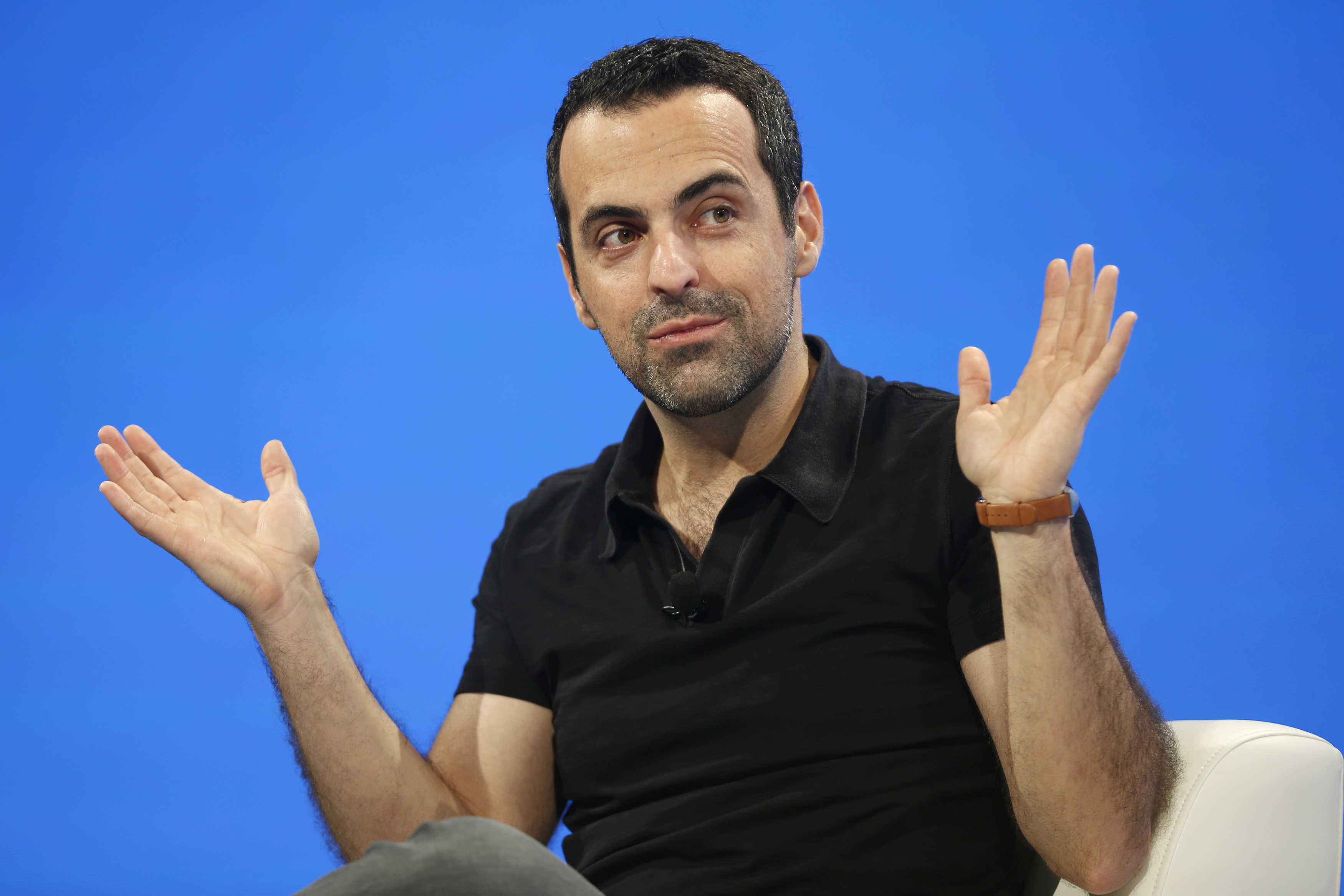 Xiaomi Vice President Hugo Barra speaks at the WSJD Live conference in Laguna Beach, California October 28, 2014.  REUTERS/Lucy Nicholson (UNITED STATES - Tags: BUSINESS) - RTR4BXKW
