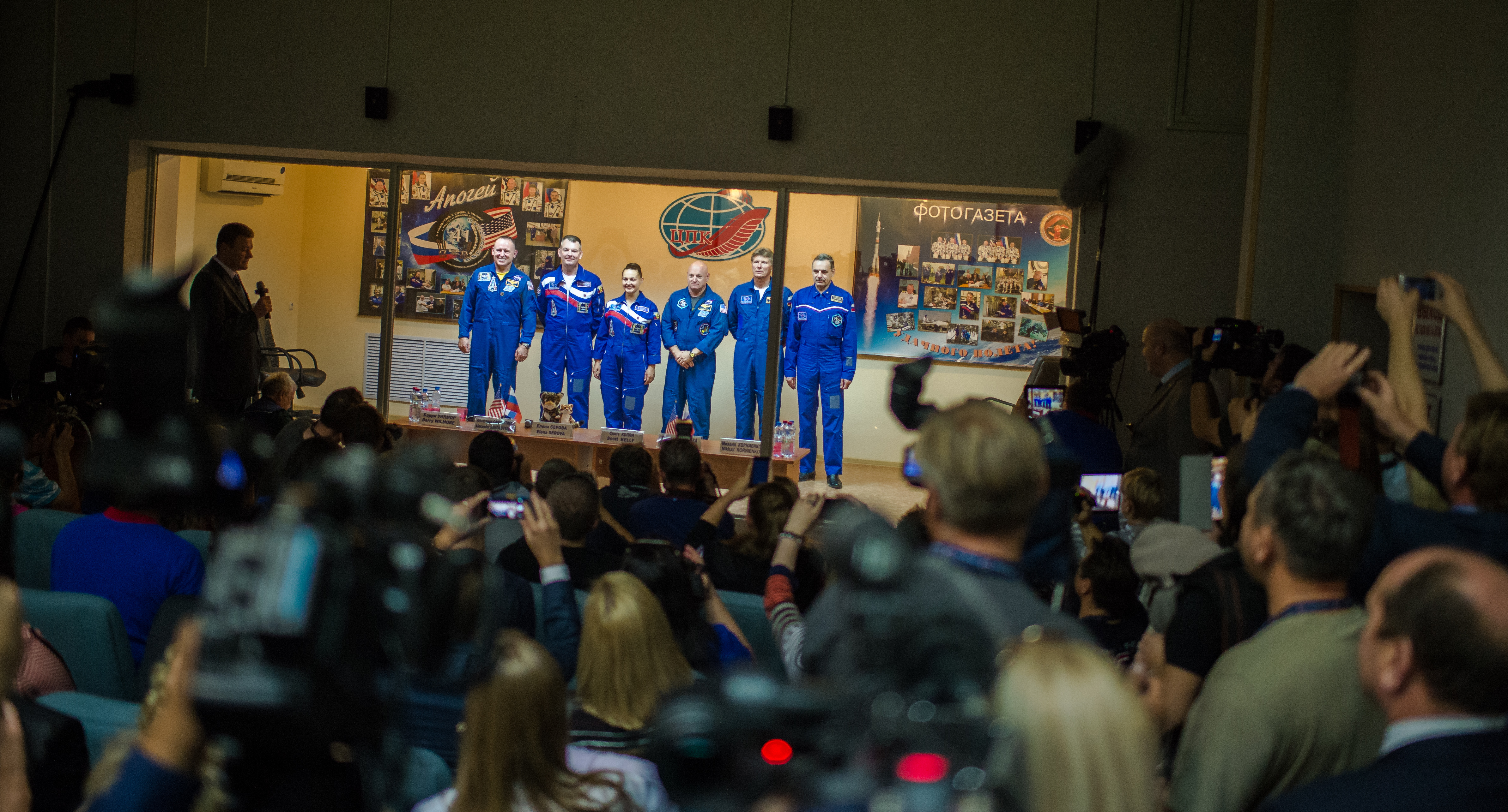 Expedition 41 Press Conference