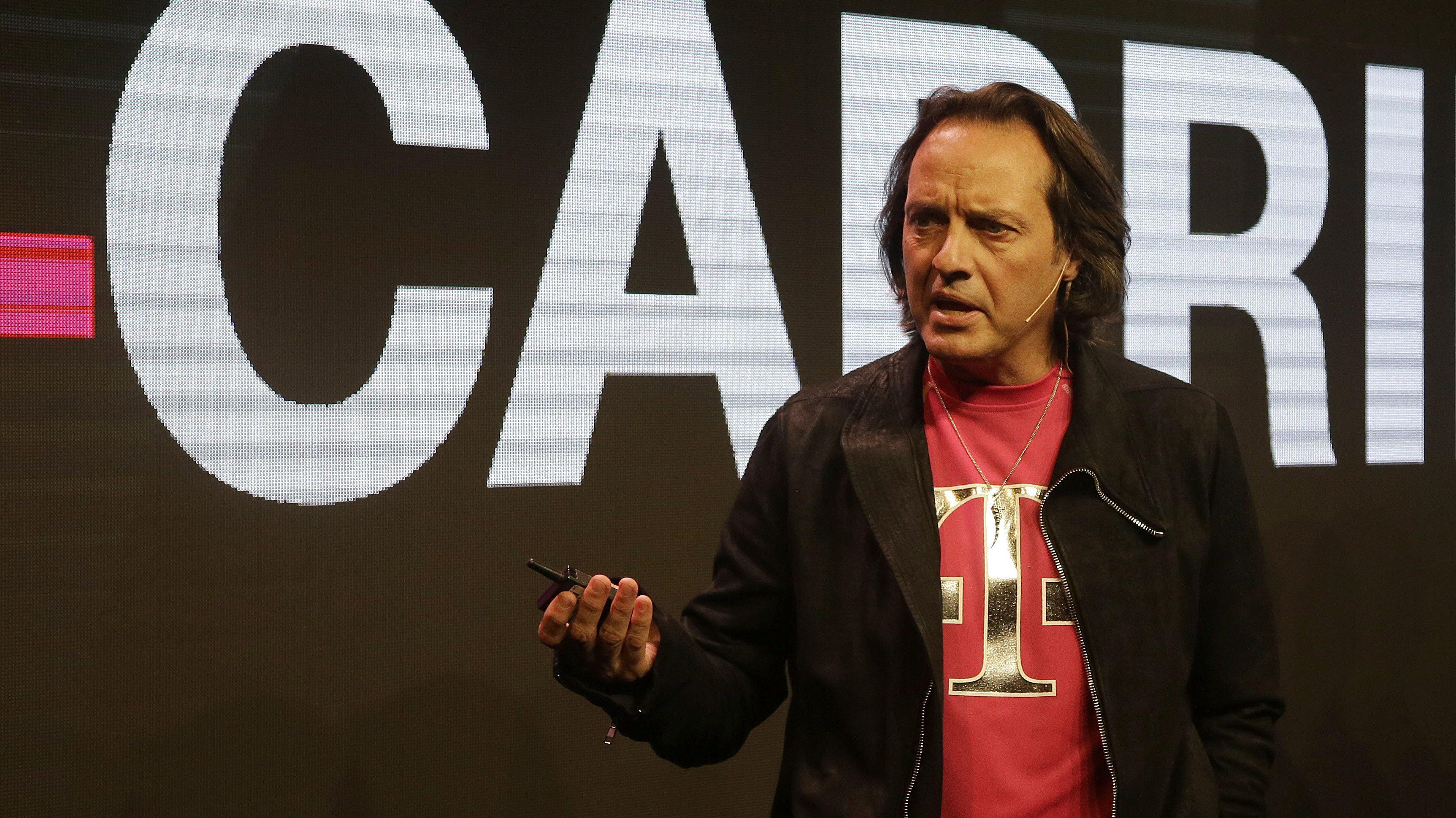 John Legere T-Mobile Net Neutrality