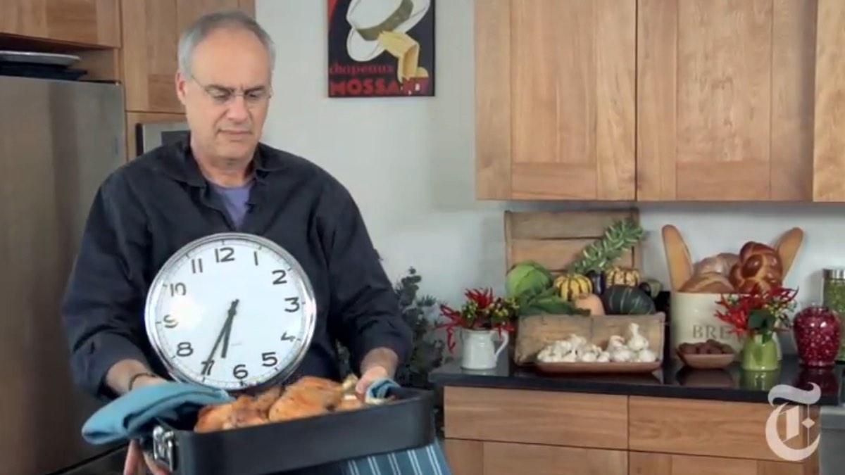 Mark Bittman 45-minute turkey