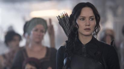 A still from Mockingjay - Part 1