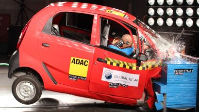 Tata Nano-Crash Test