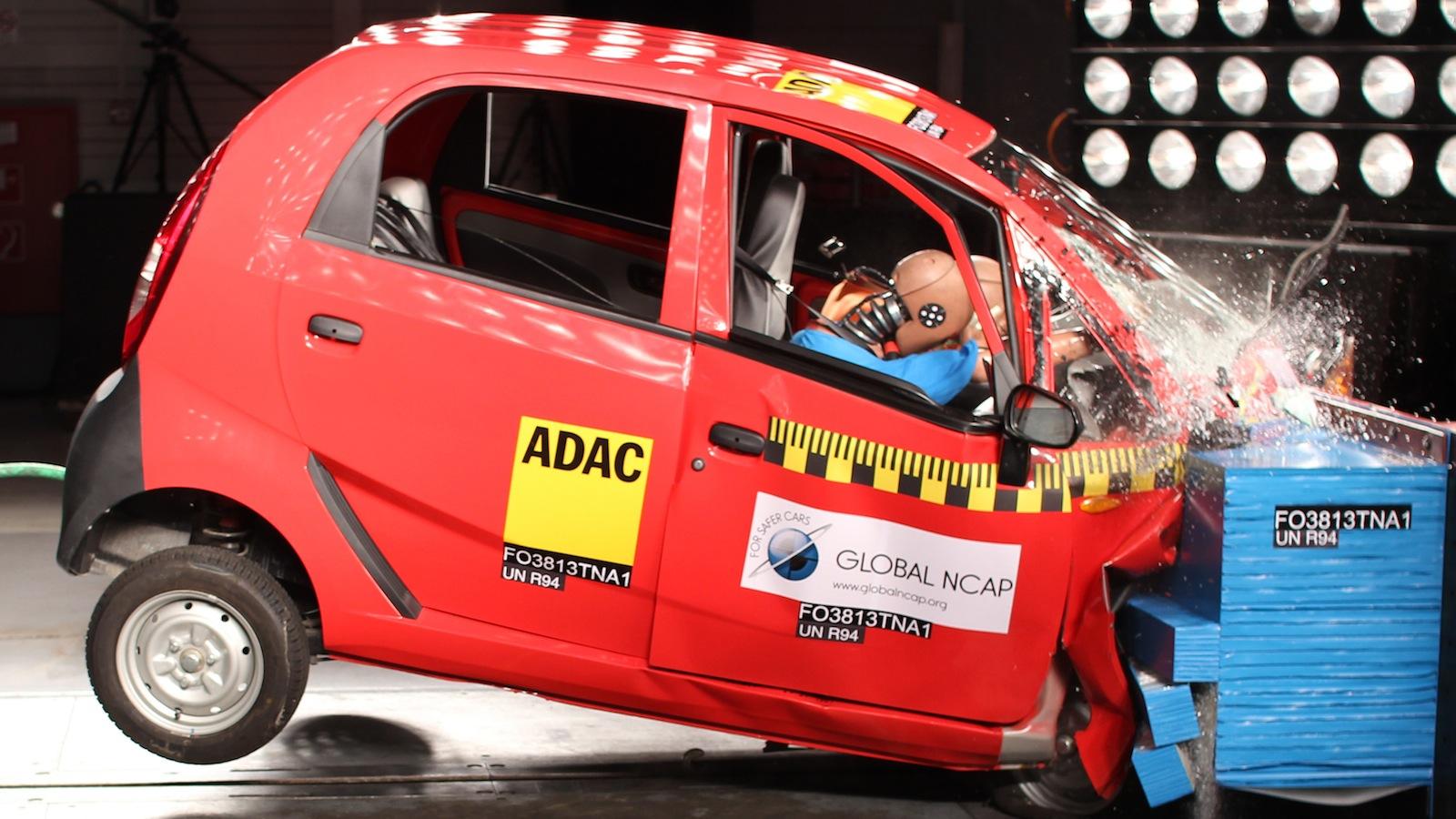Tata Nano-Crash Test