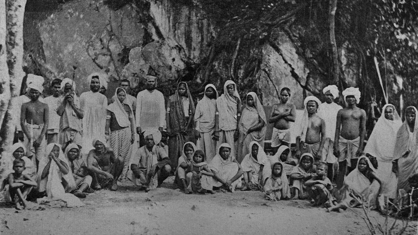 Indian workers in Trinidad.