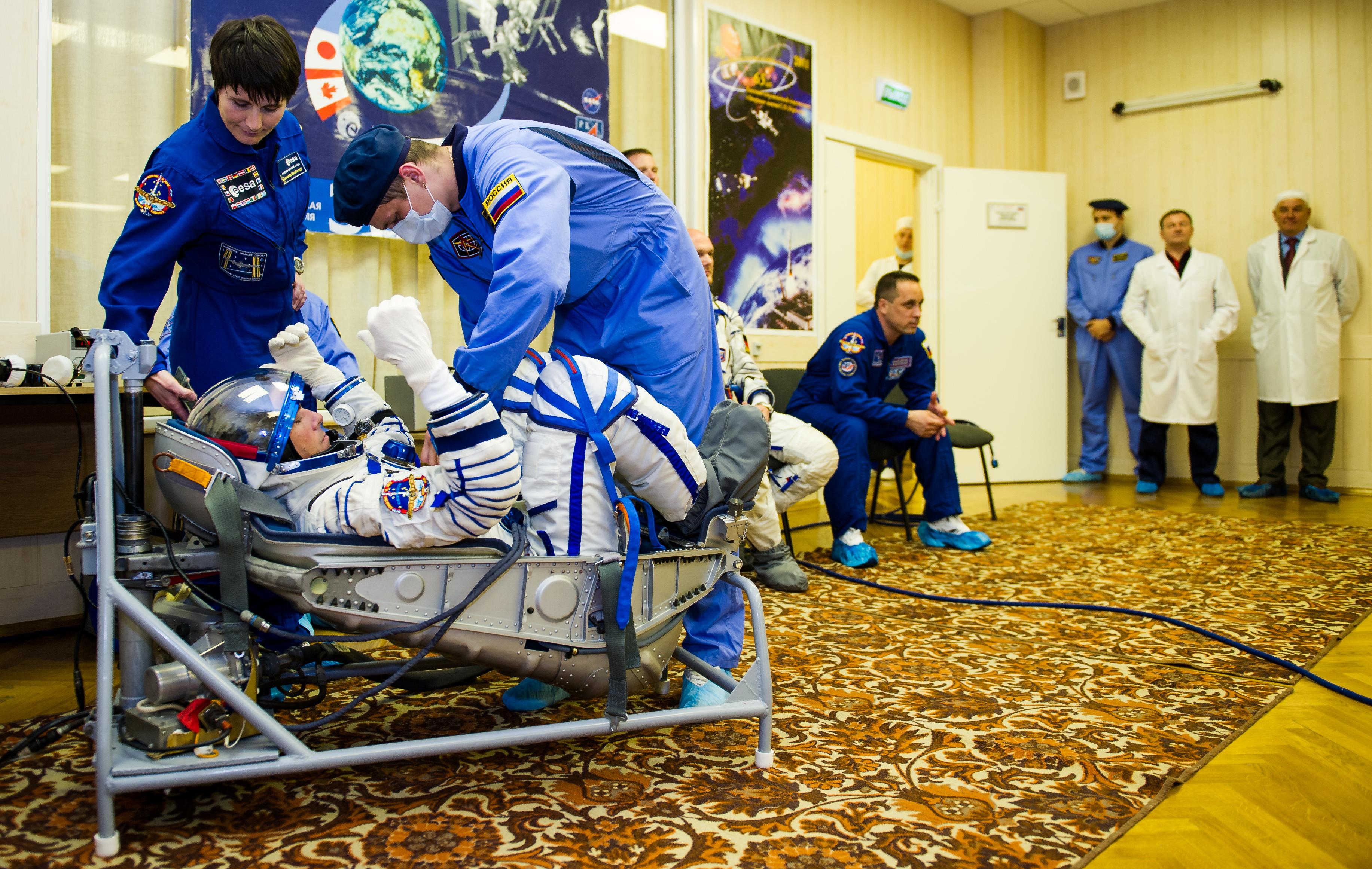 Expedition 40 Preflight