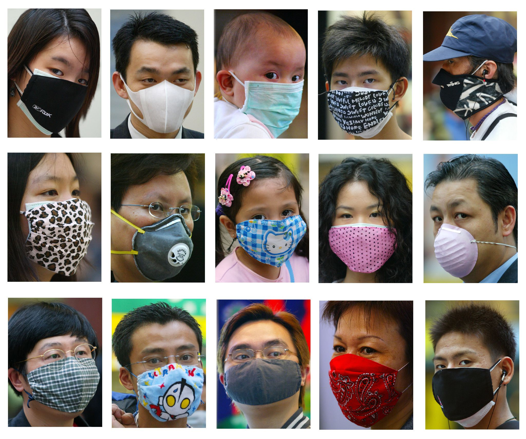 sars surgical mask