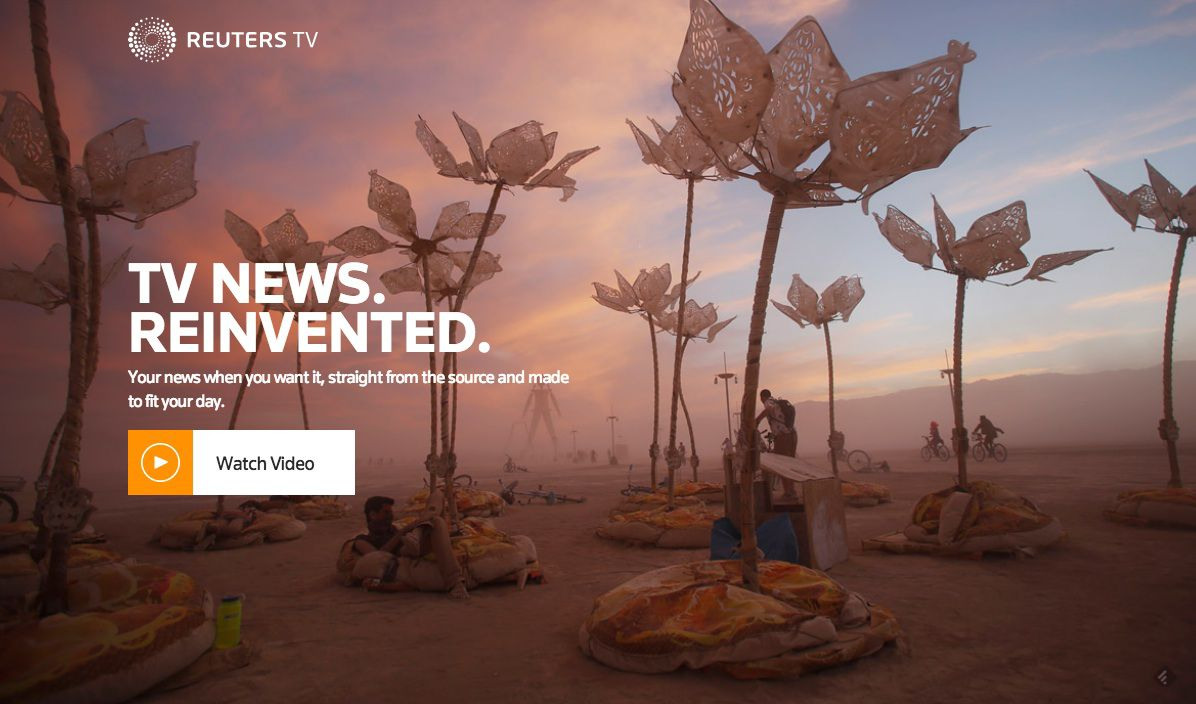 Reuters wants to convince young people to embrace TV news on