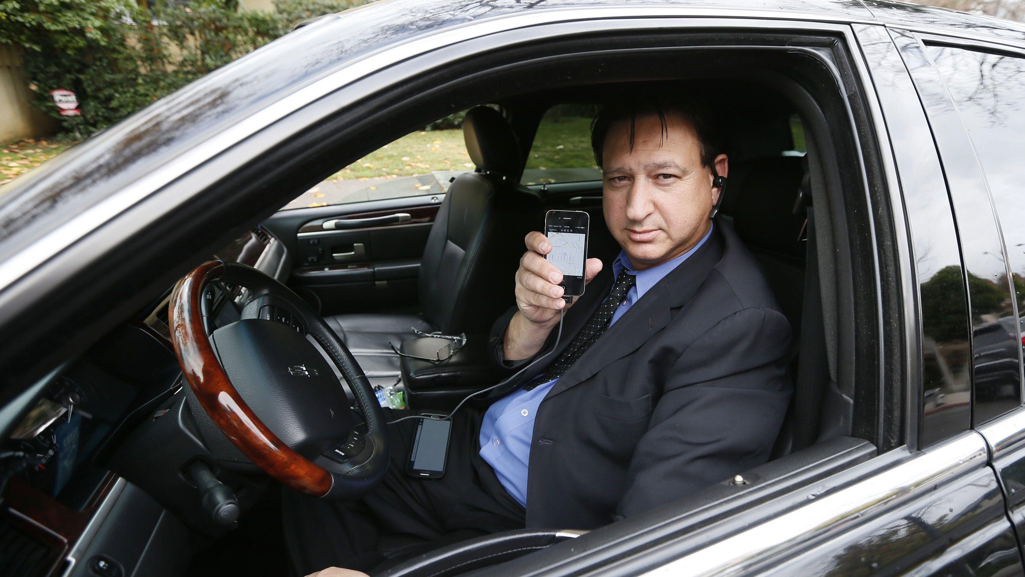 Uber driver driver Shuki Zanna