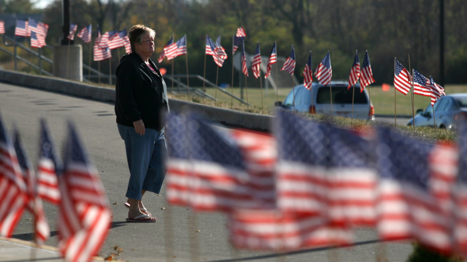 votingamericanflags