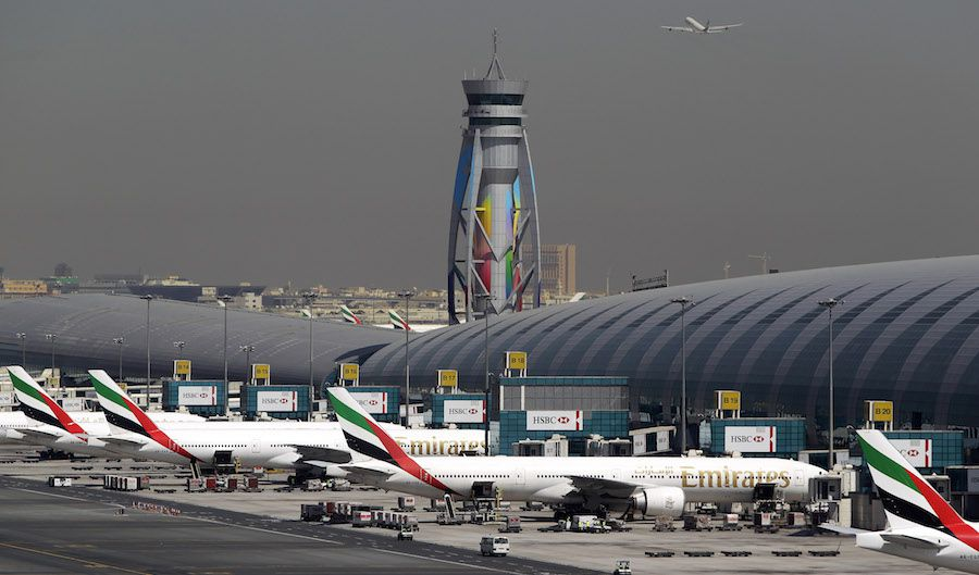 Mideast Emirates Dubai Airport Boss