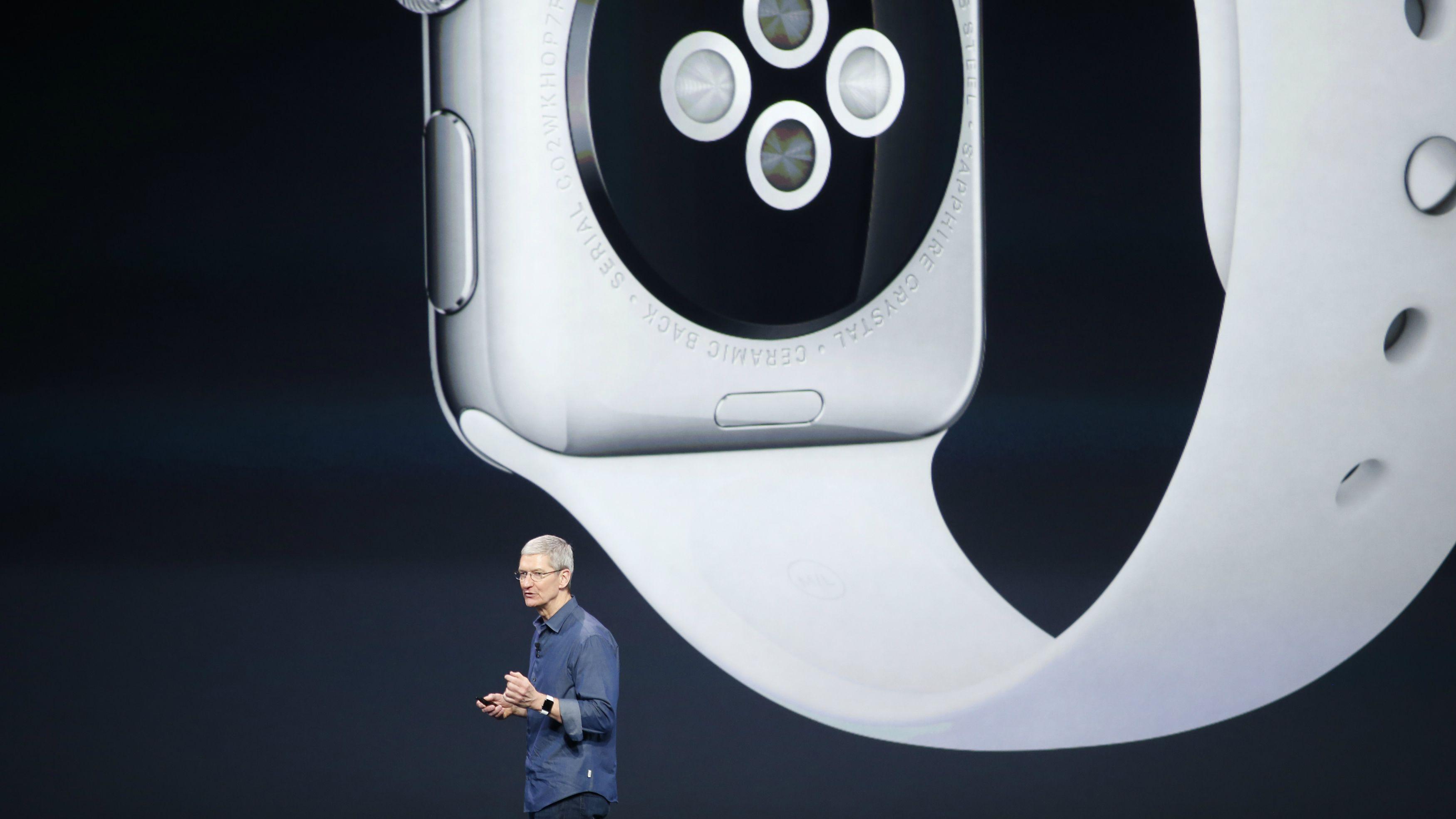 apple watch tim cook wearables wearable technology