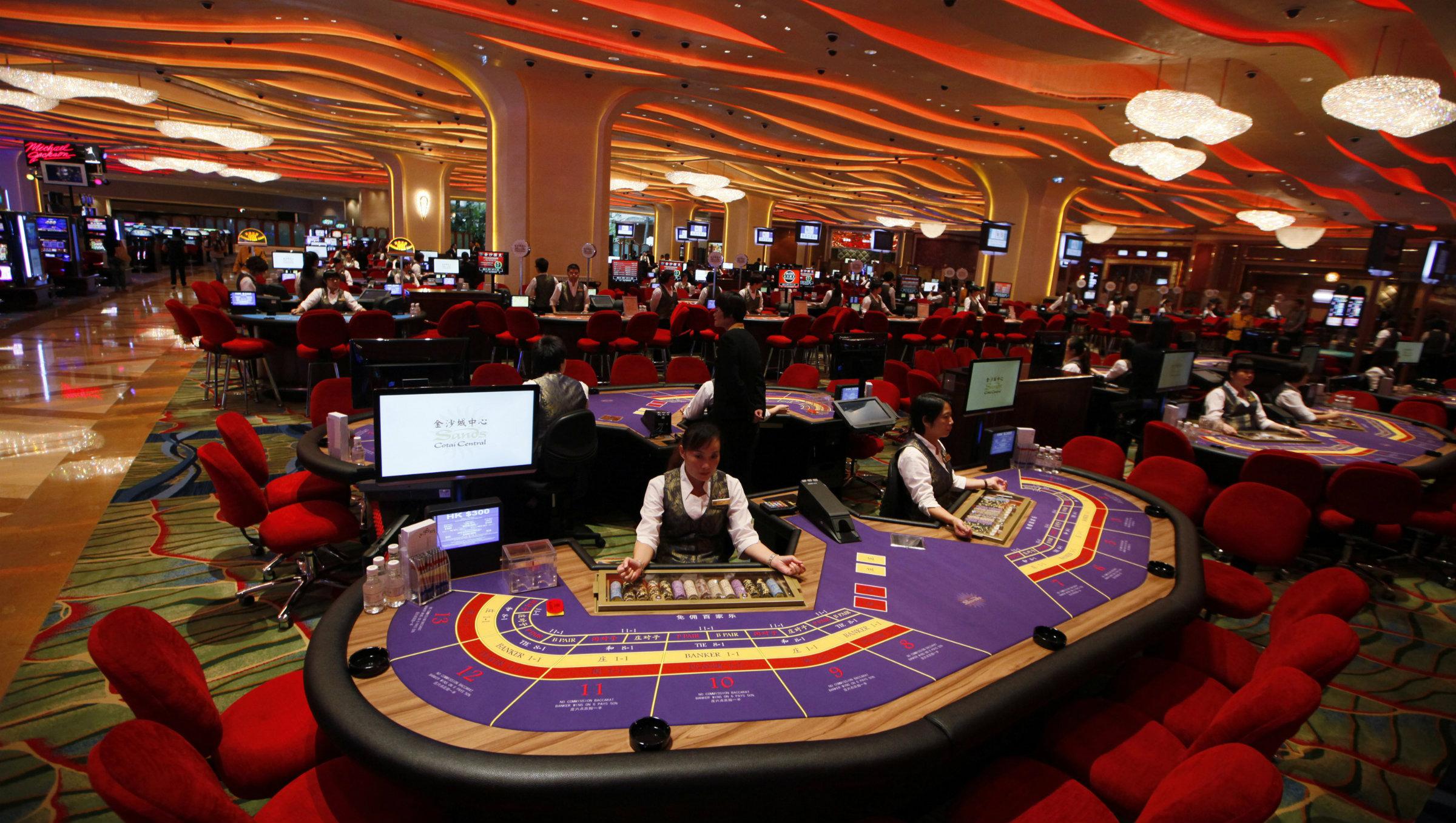 Macau S Casinos Have A Dangerous Addiction To Baccarat Quartz
