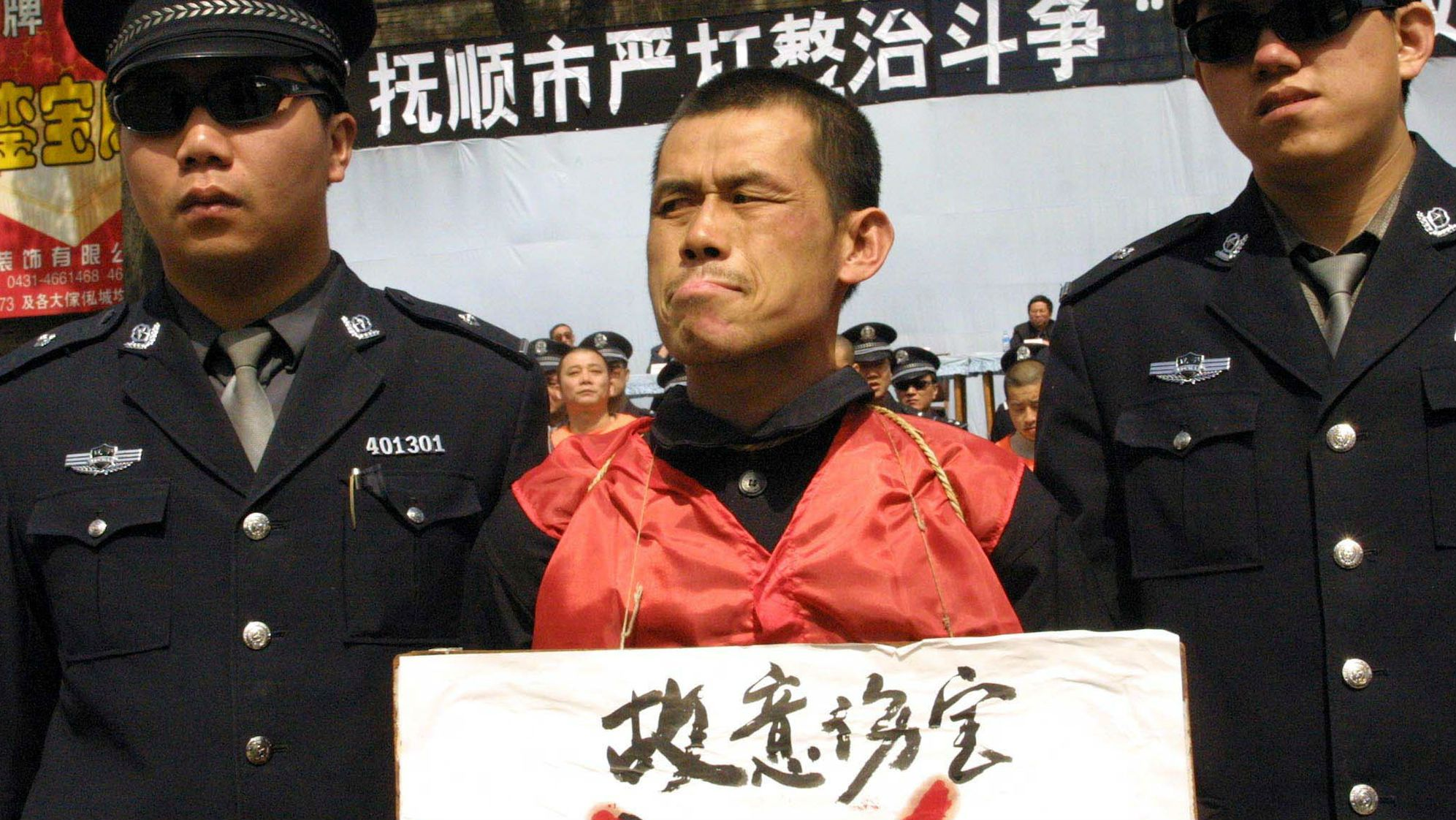 China pledges to stop harvesting organs from inmates.