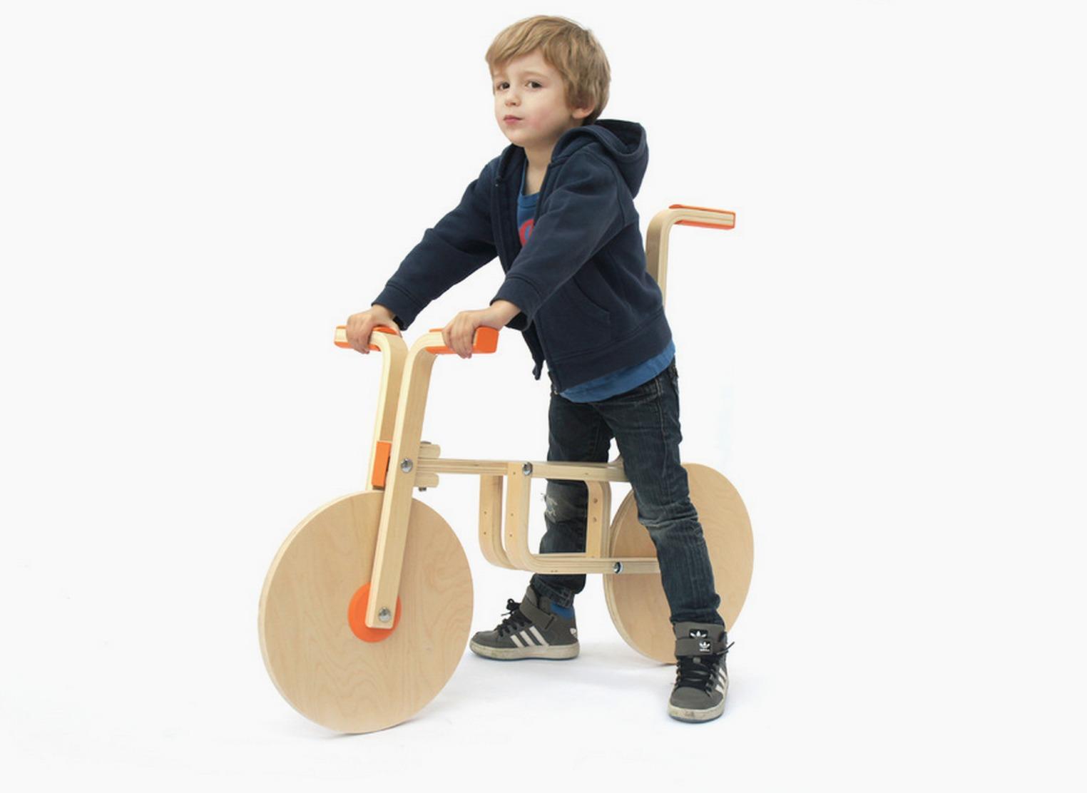 ikea stool now a bike