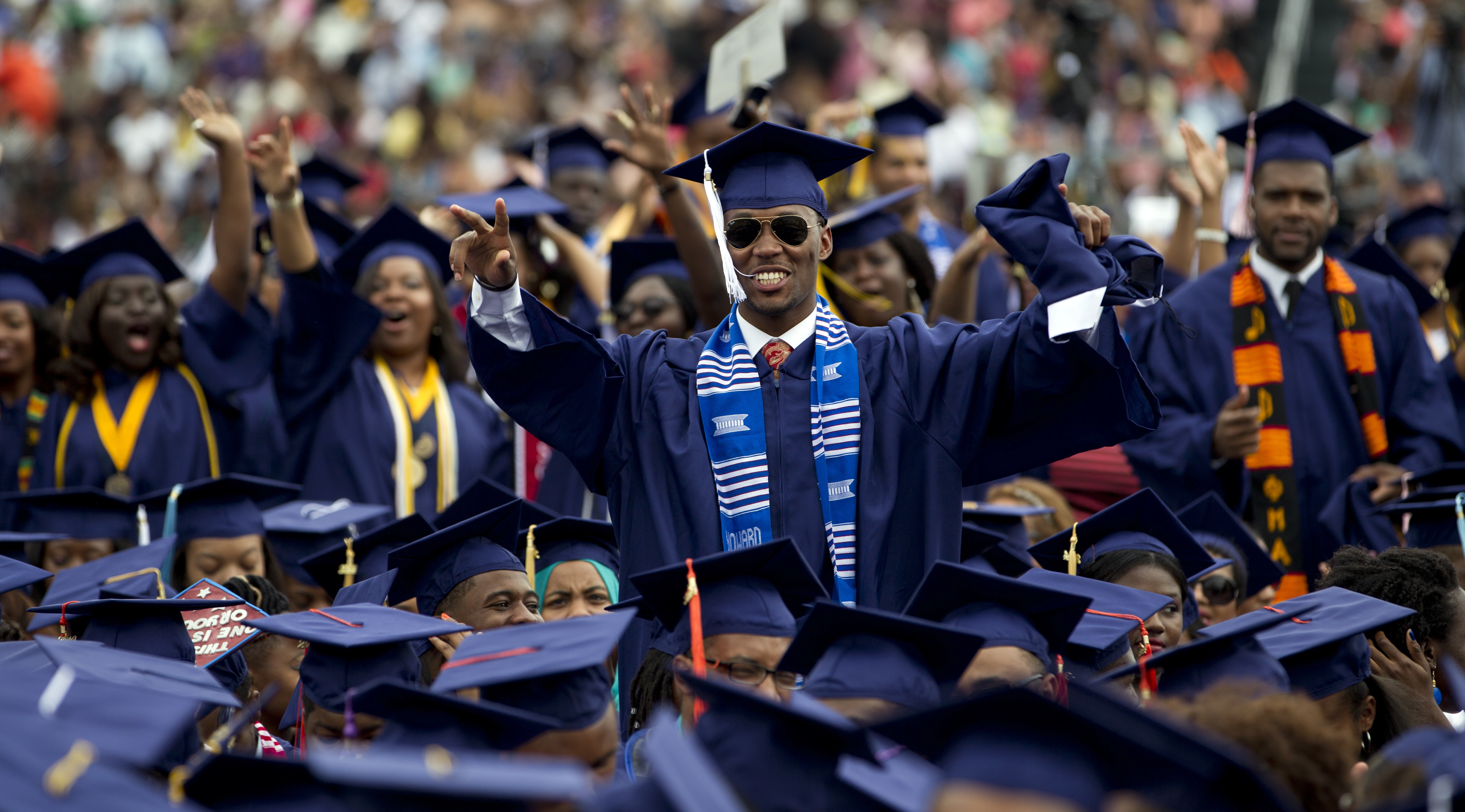Image result for high school graduation black students