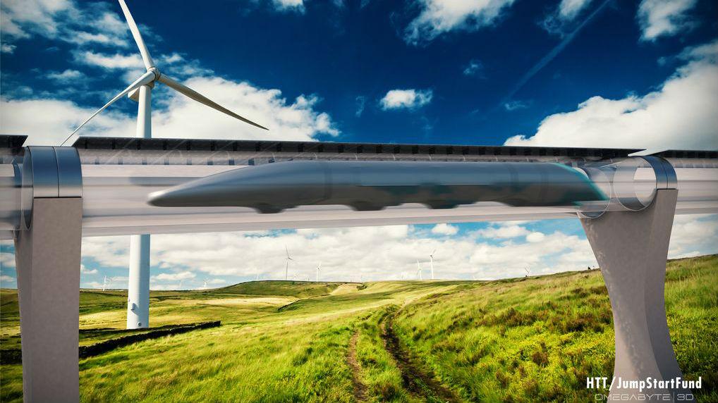Hyperloop train