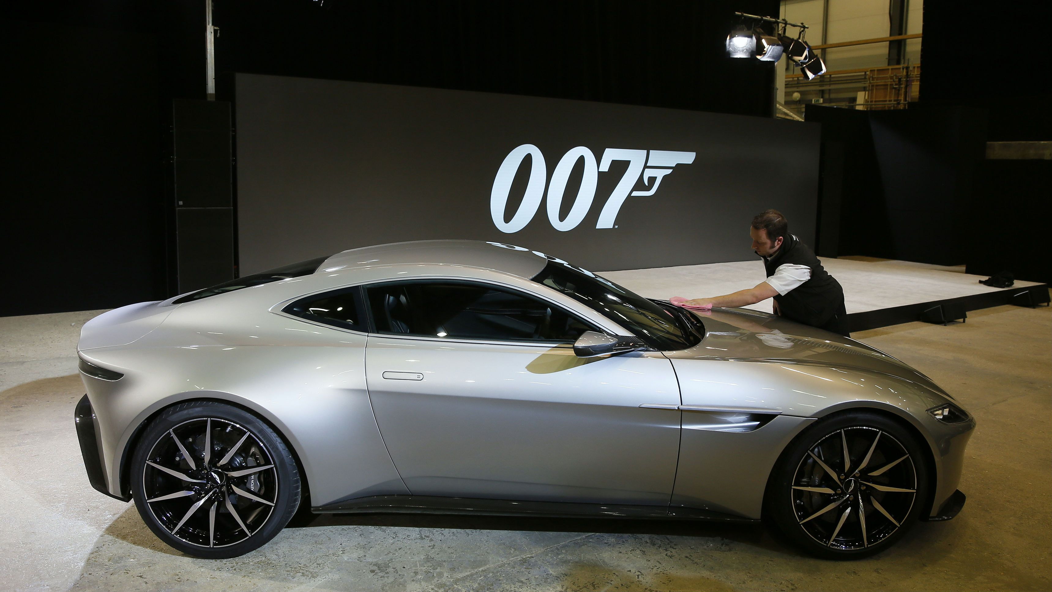 The Other Star Of The New James Bond Film Spectre The Aston