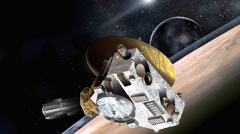 Artist rendering of the Next Horizons spacecraft.
