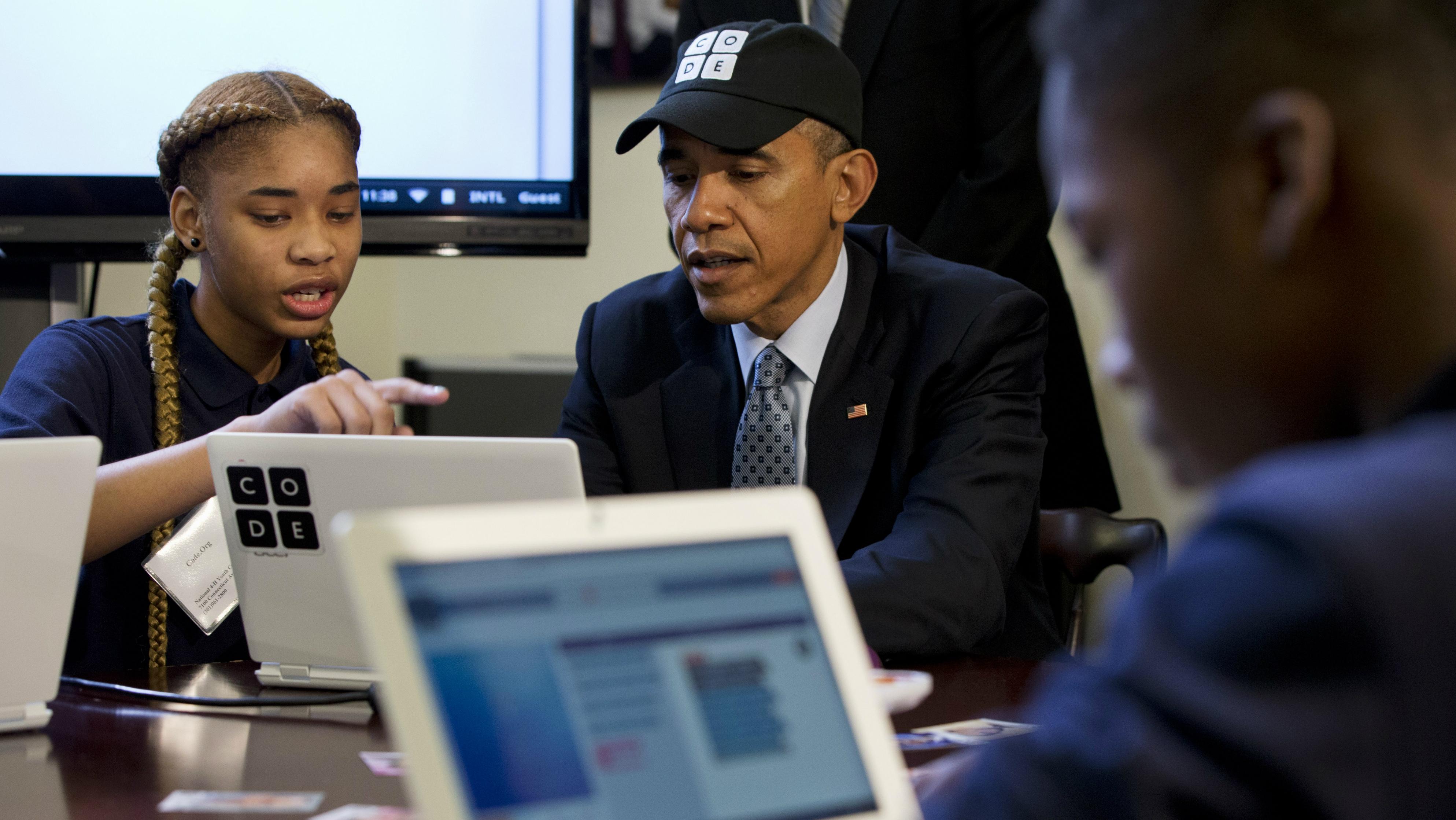 Obama coding