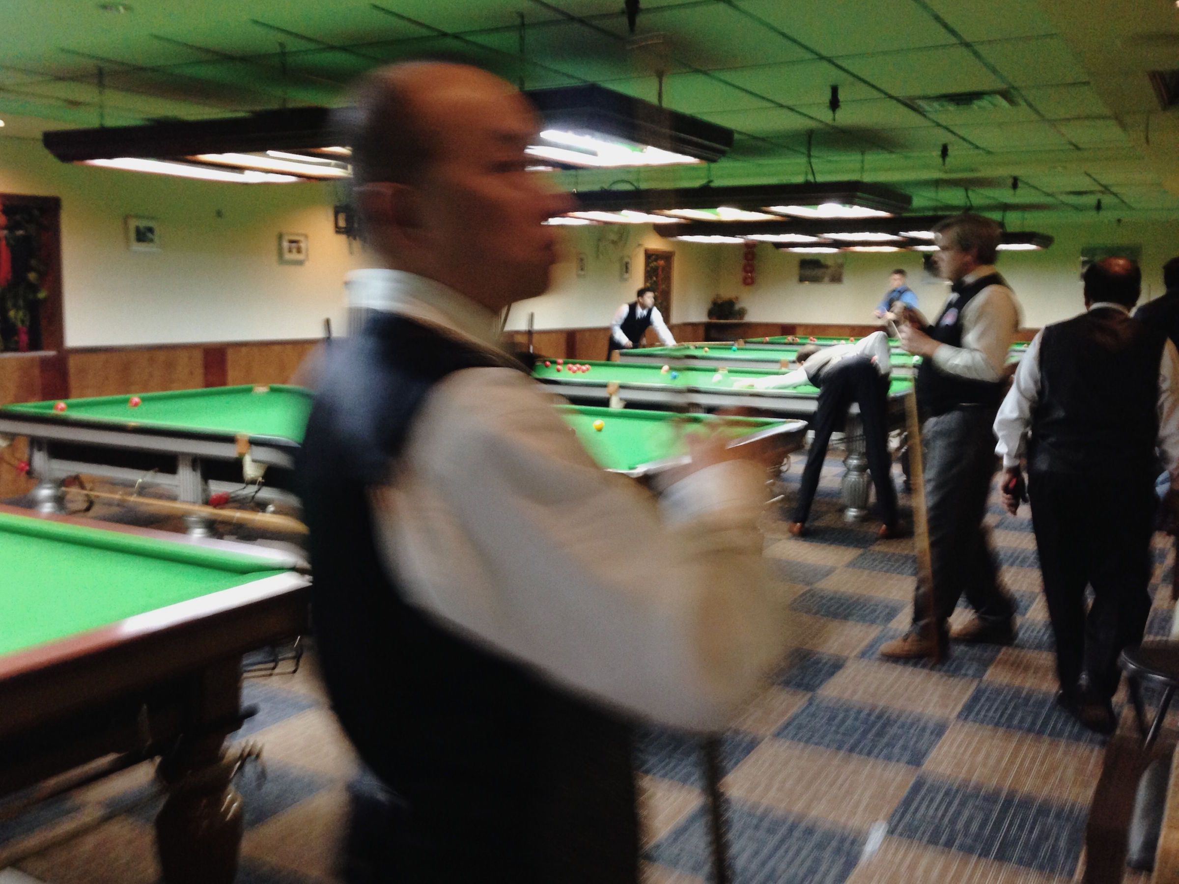 The US national snooker tournament.