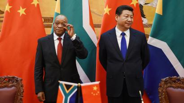 president zuma and president xi