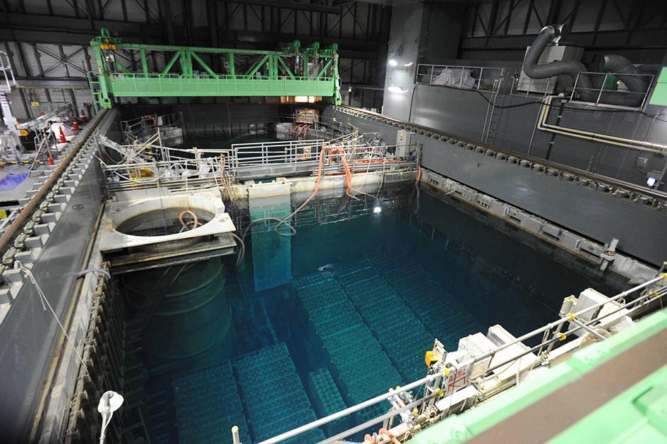 reactor building