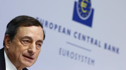 European Central Bank President Mario Draghi addresses an ECB news conference December 4, 2014.