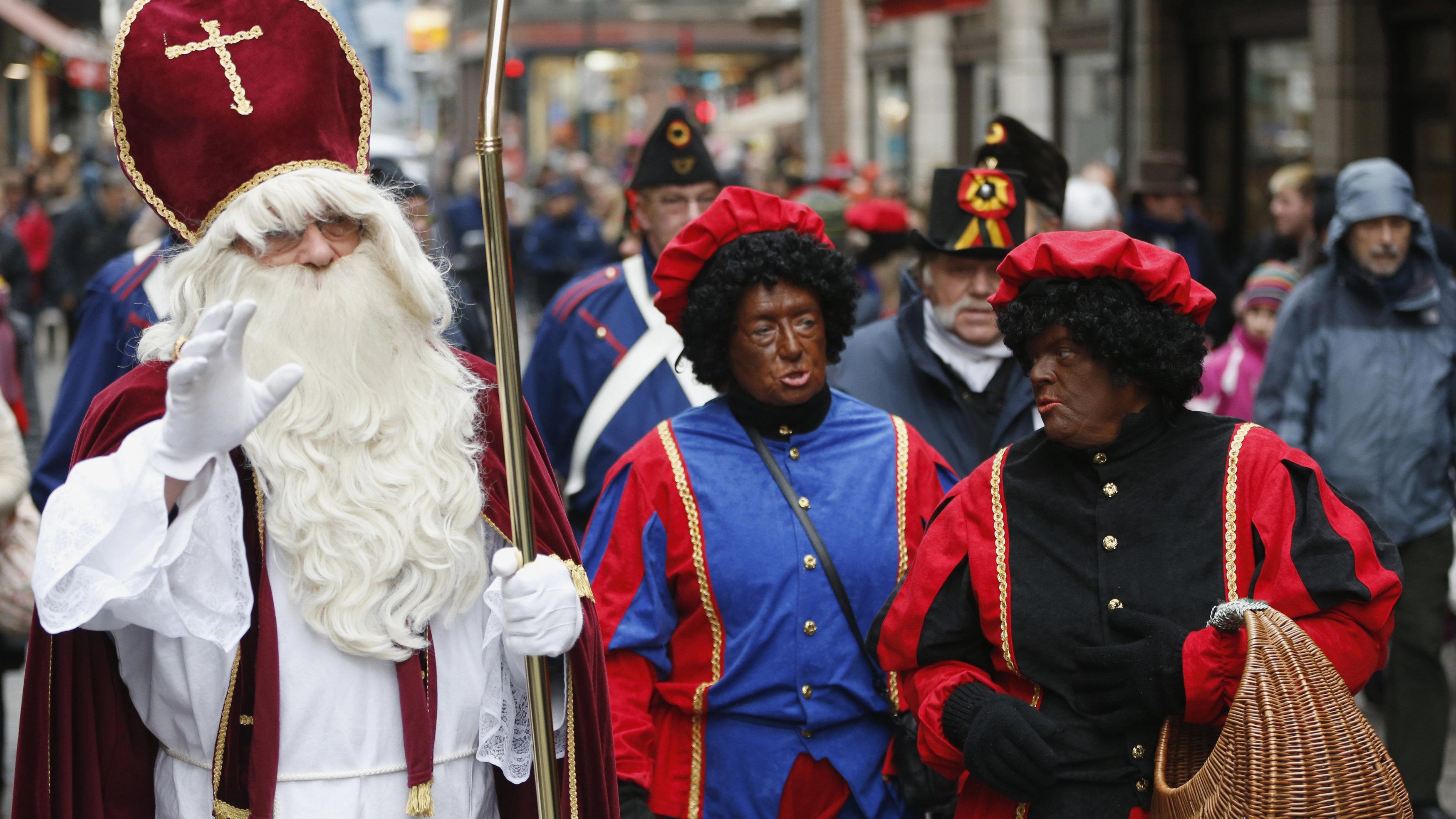 Saint Nicholas and Zwarte Piets