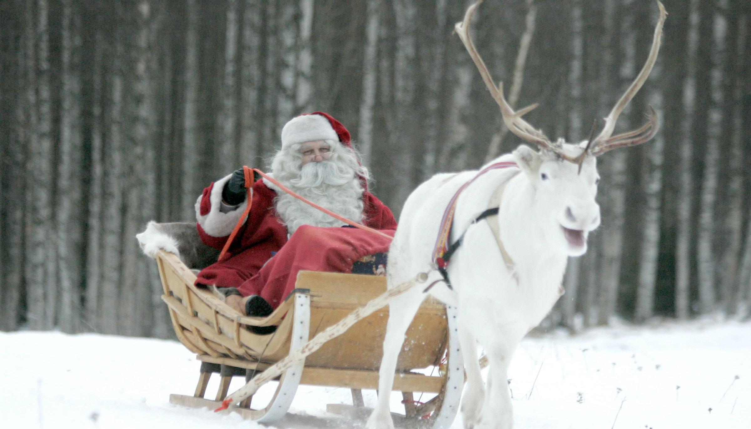 santa in lapland - Pictures Santa Claus