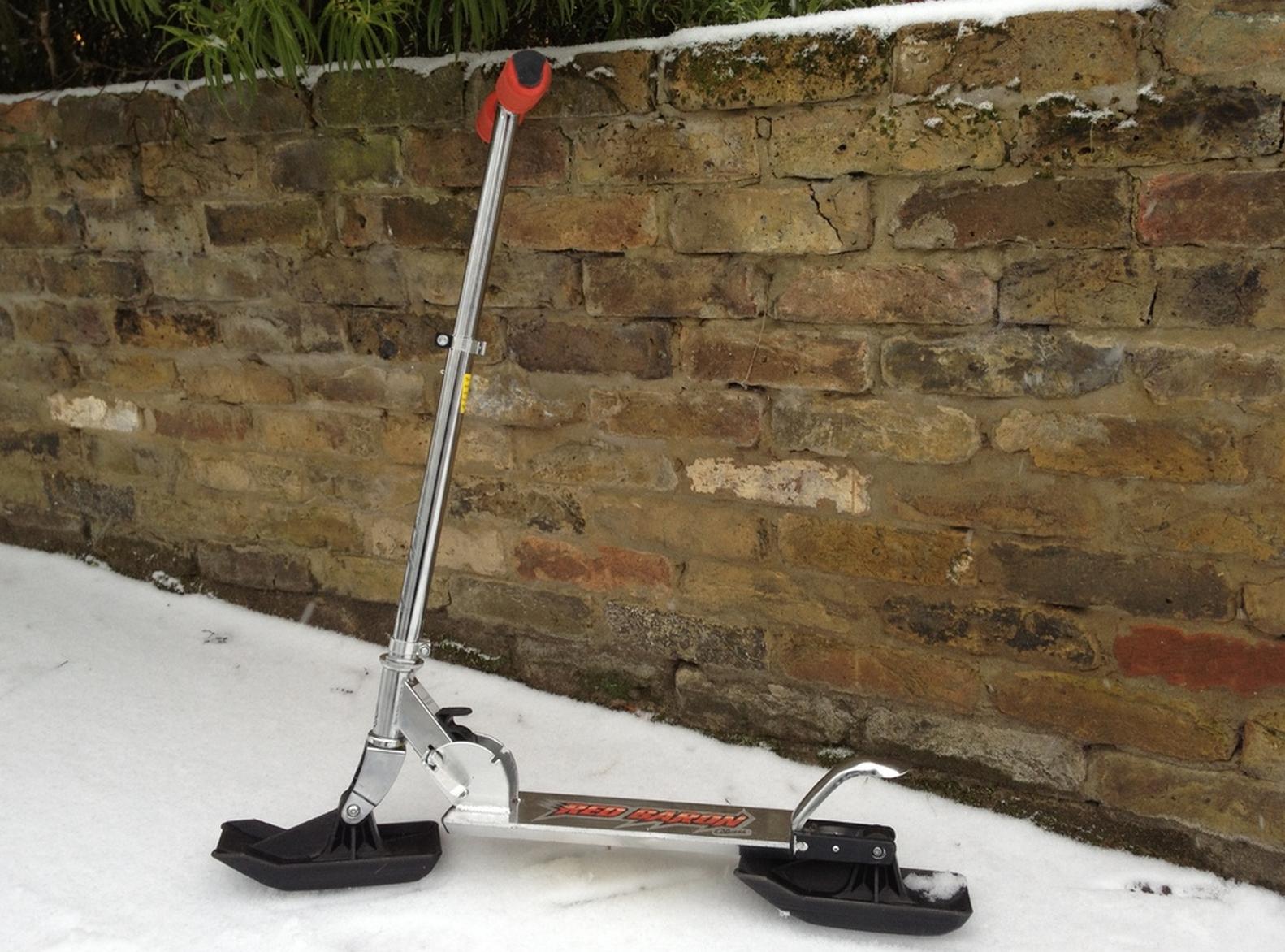 razor scooter sled