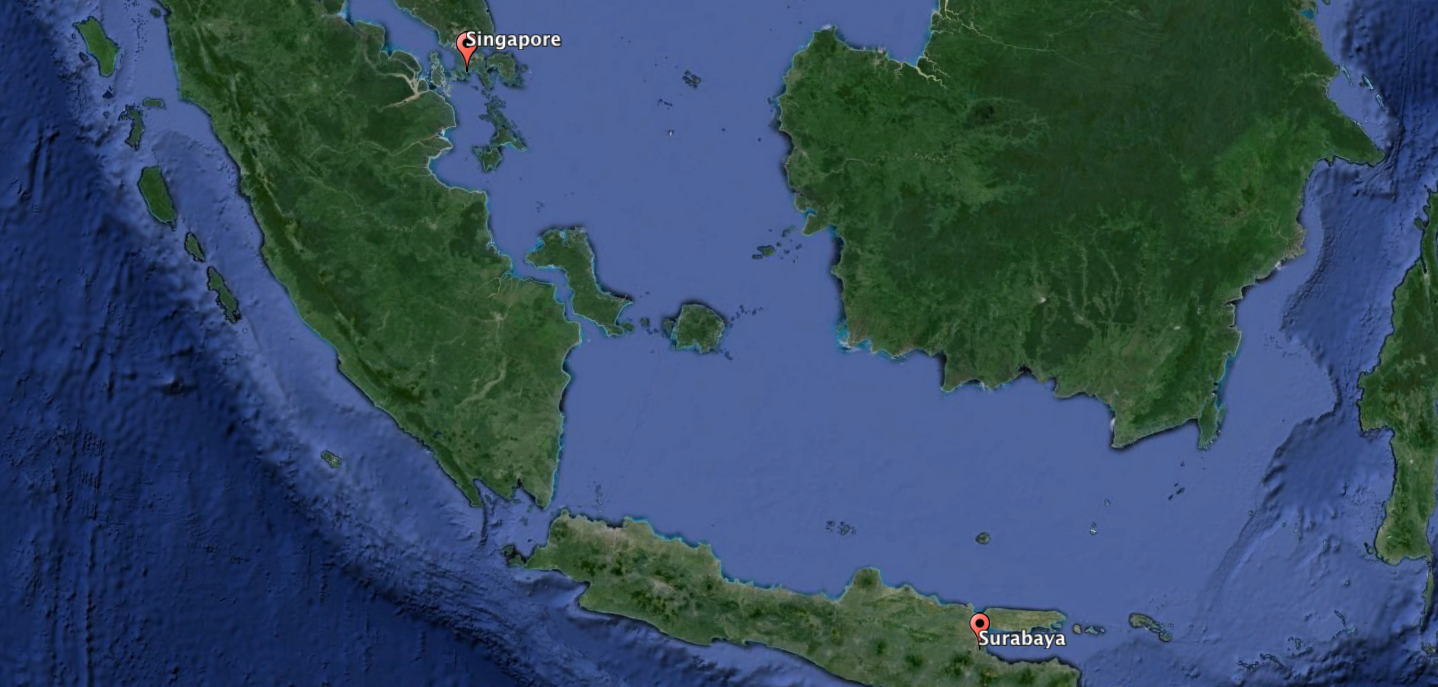 An AirAsia flight from Indonesia to Singapore has disappeared in ...