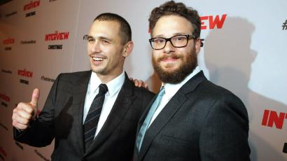 Sony cyber attack Seth Rogen James FRanco