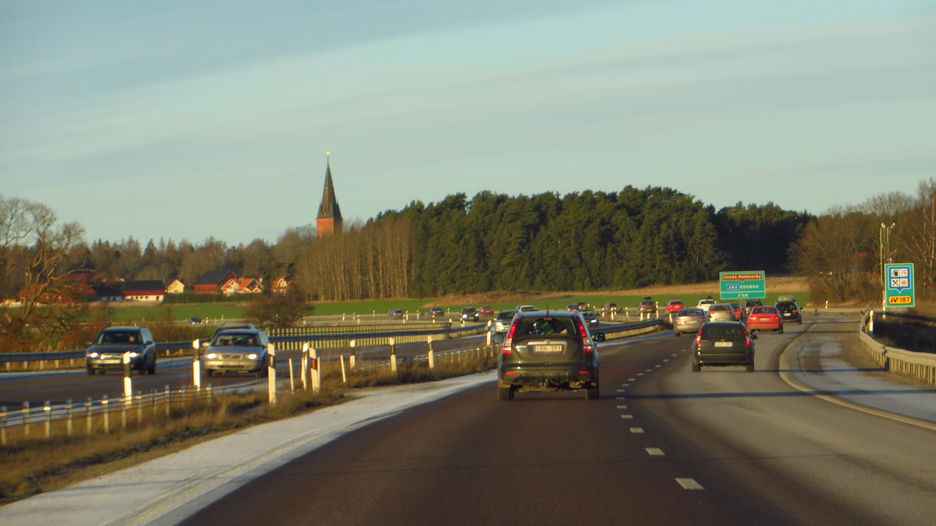 Sweden road traffic