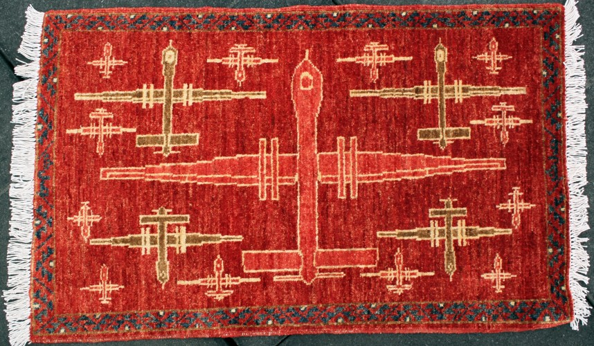 Afghan Carpet Weavers Are Putting