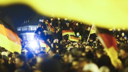 anti-islam protest in germany
