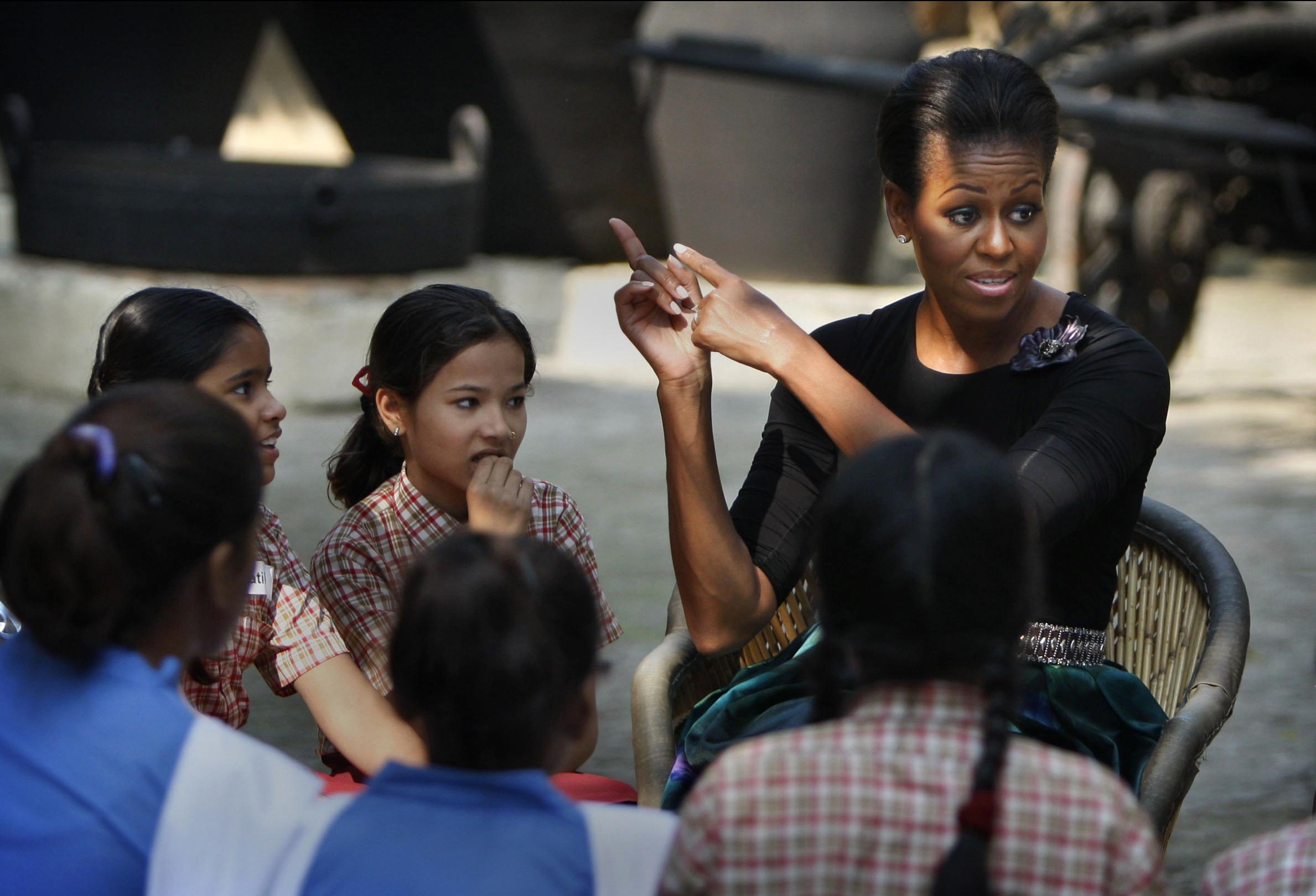 Michelle-Obama-India