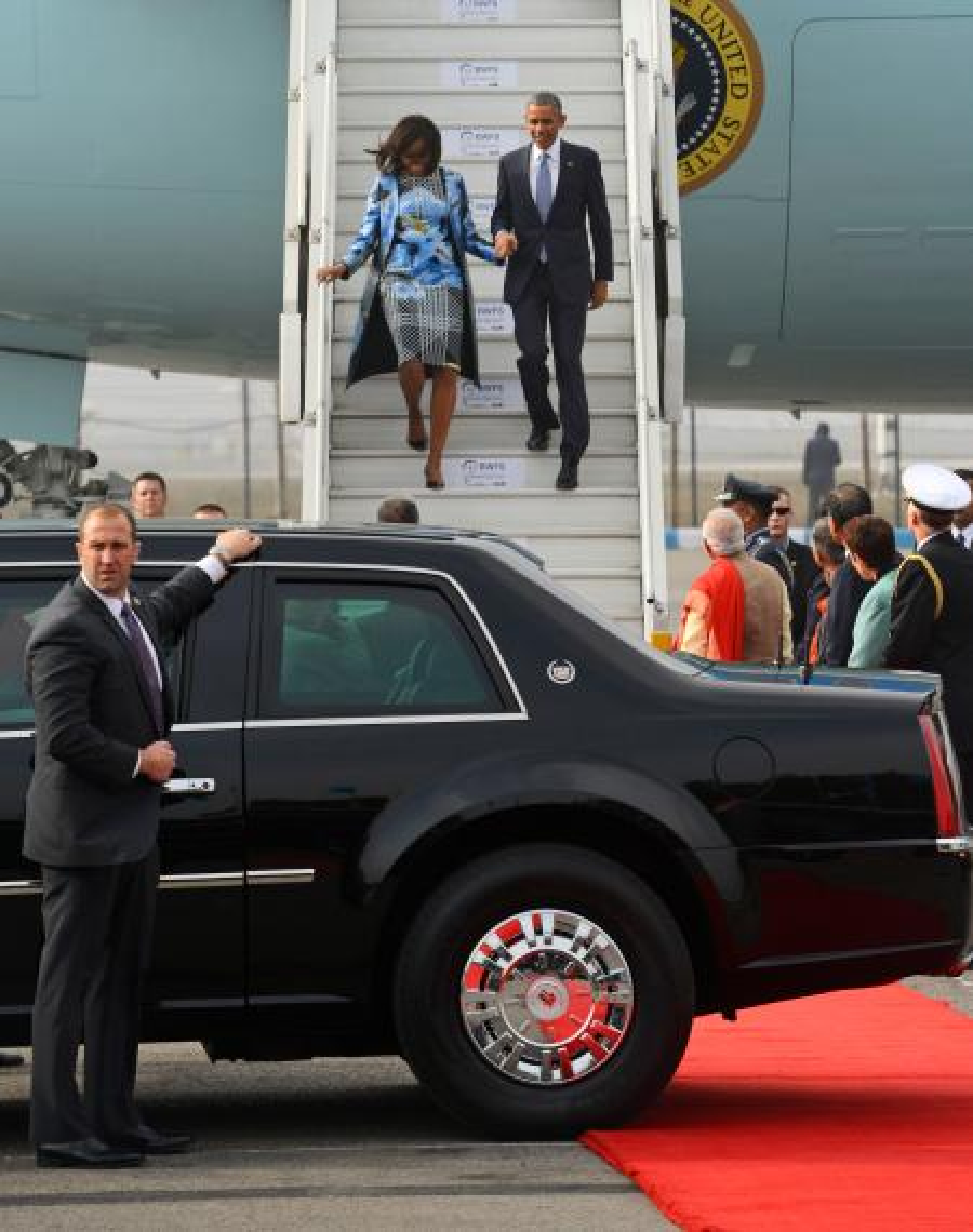Barack Obama, Michelle Obama, Narendra Modi