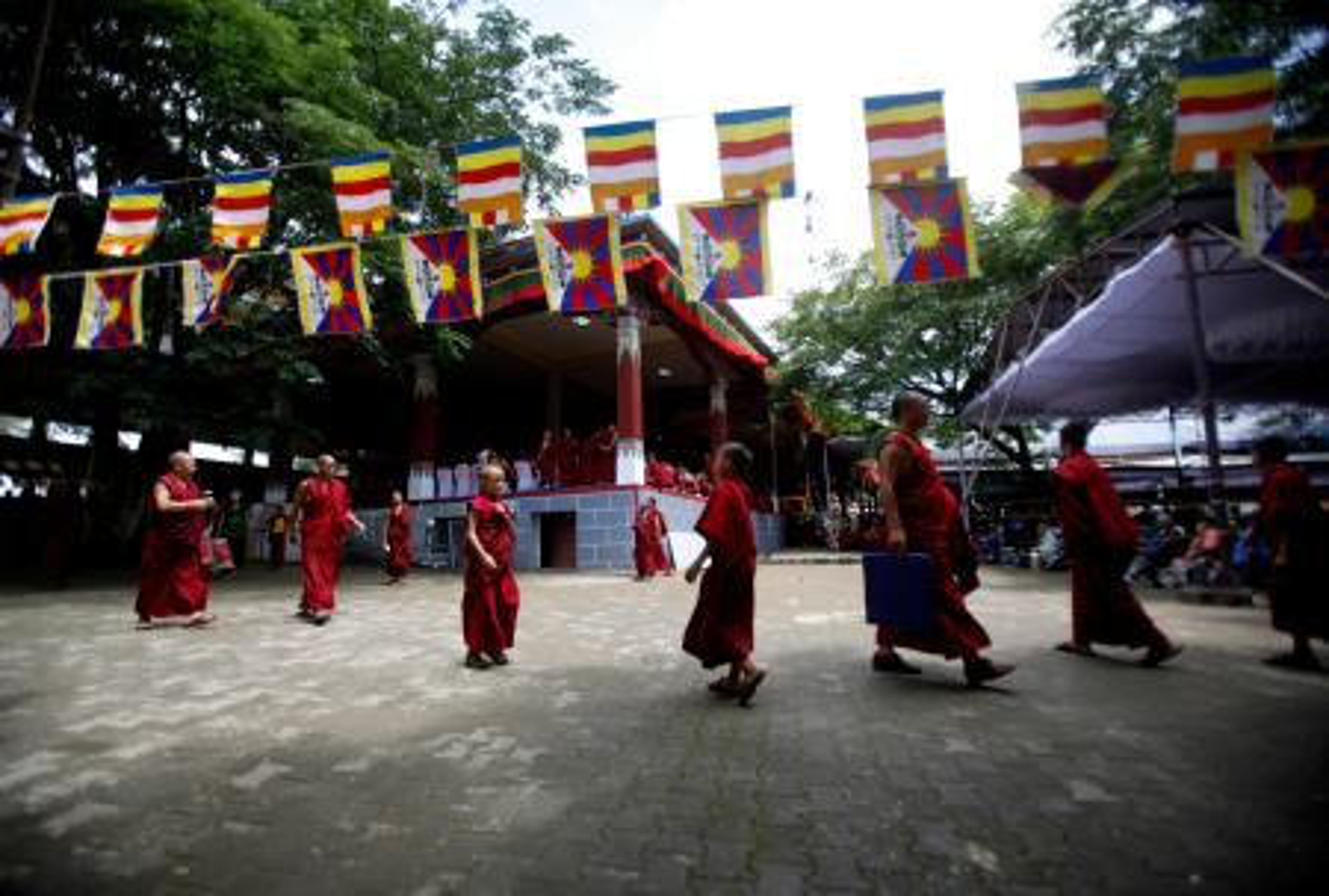 Bylakuppe-Tibet