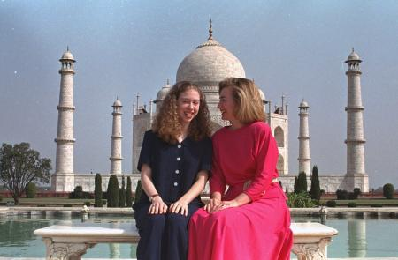 Hillary Clinton-Taj Mahal