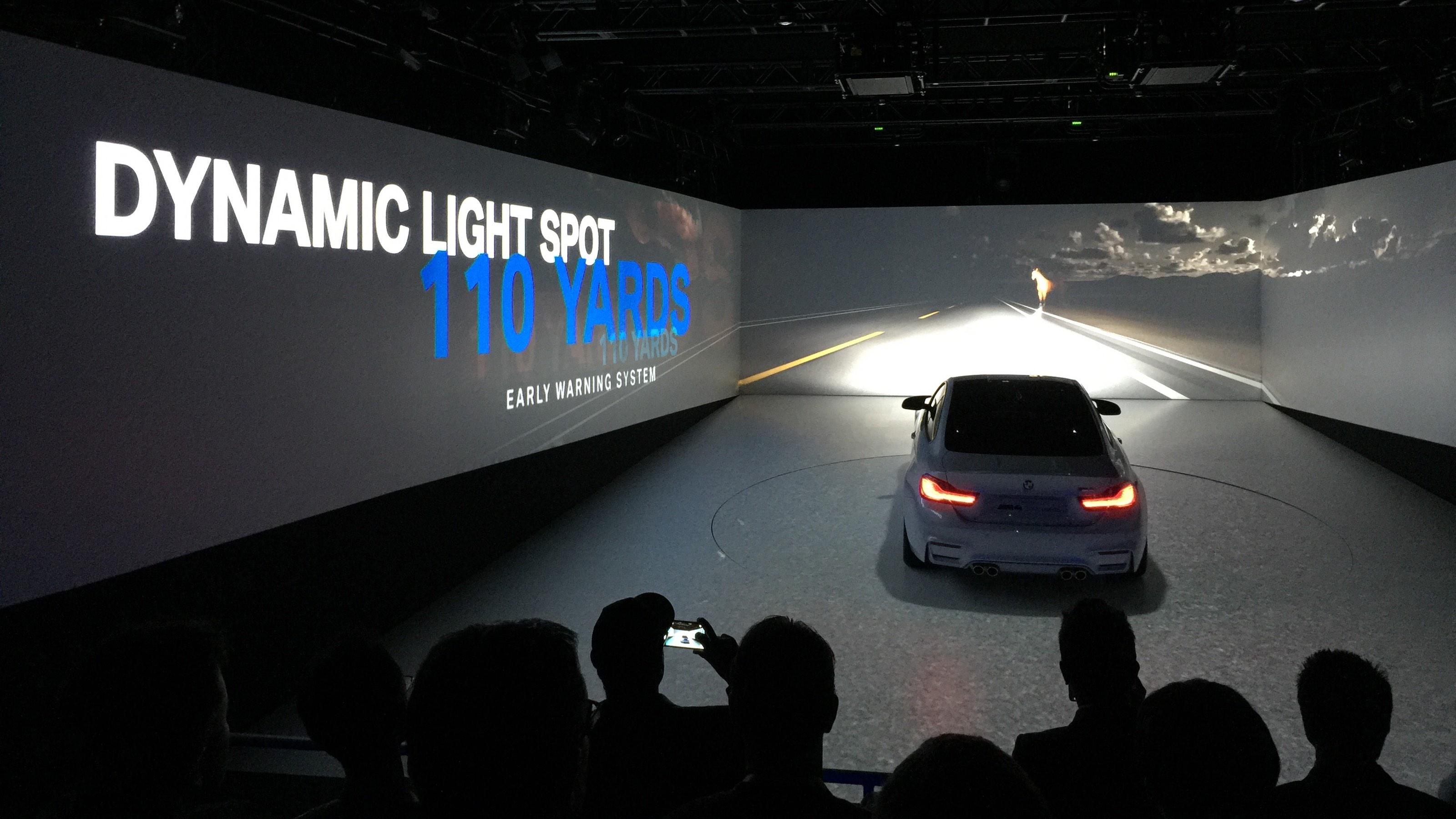 BMW CES headlights