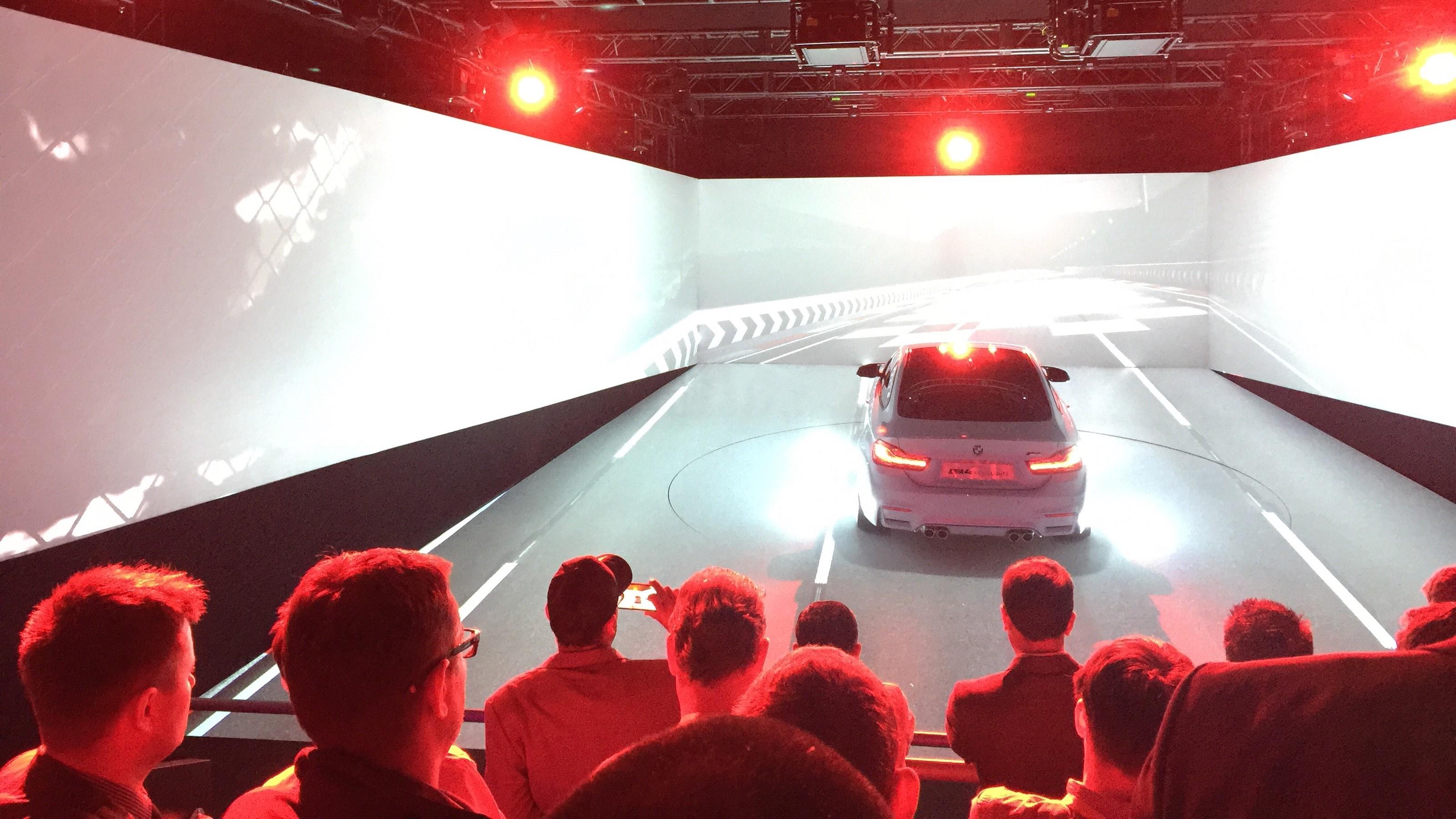 BMW Smart headlights CES