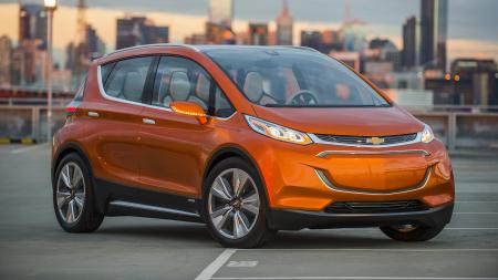2015 Chevrolet Bolt EV Concept all electric vehicle.