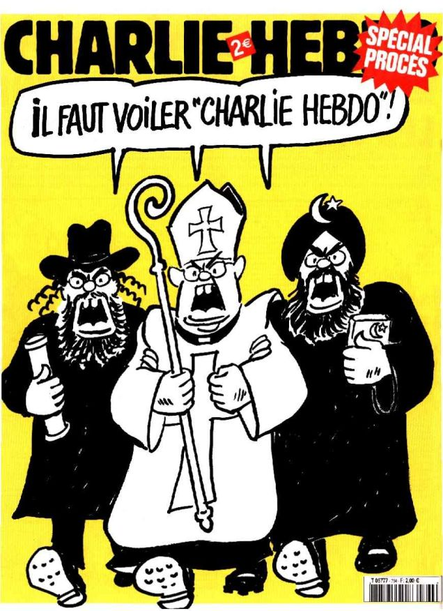 Charlie Hebdo Has Had More Legal Run Ins With Christians Than With Muslims Quartz