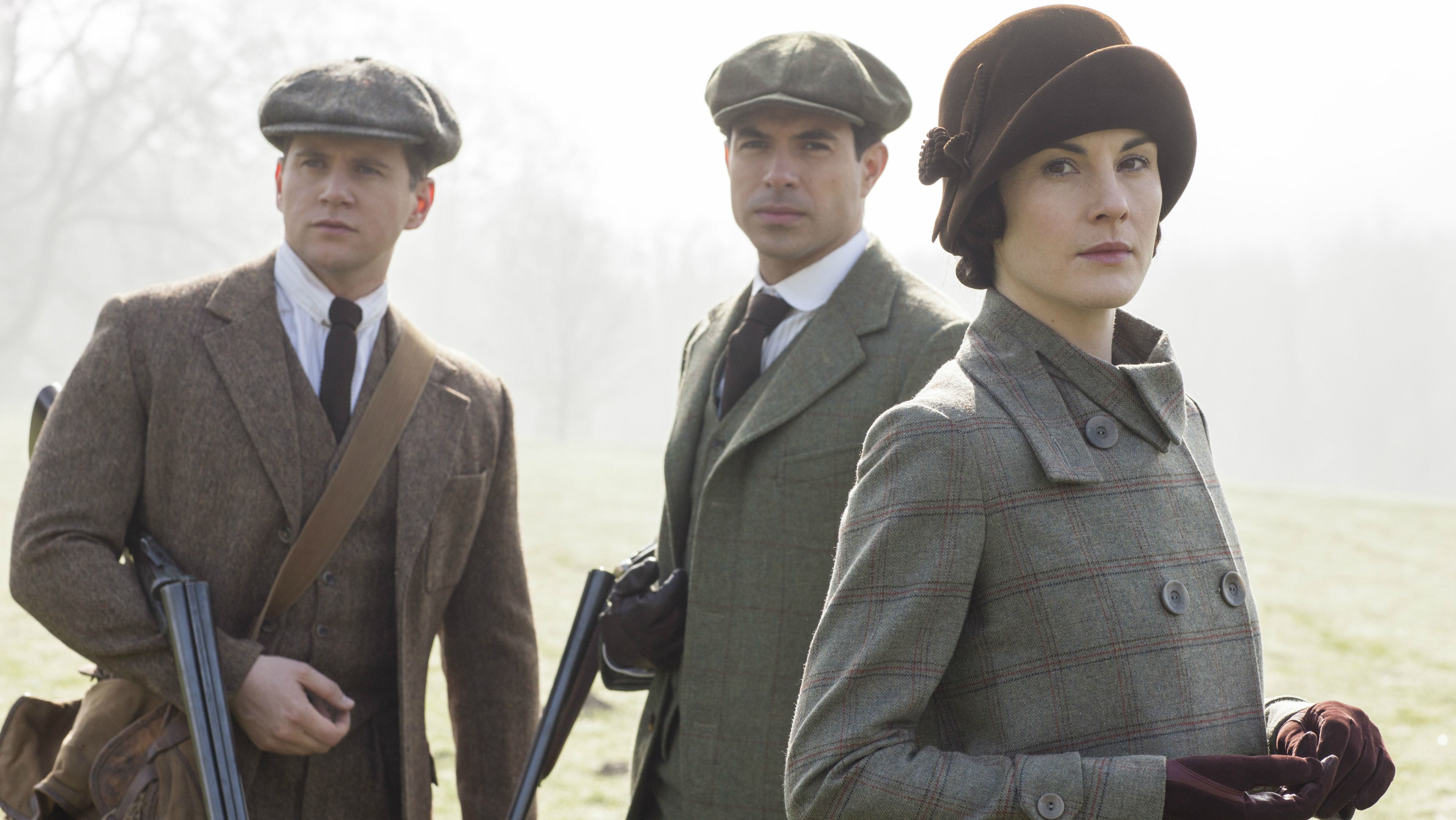 Downton Abbey with guns