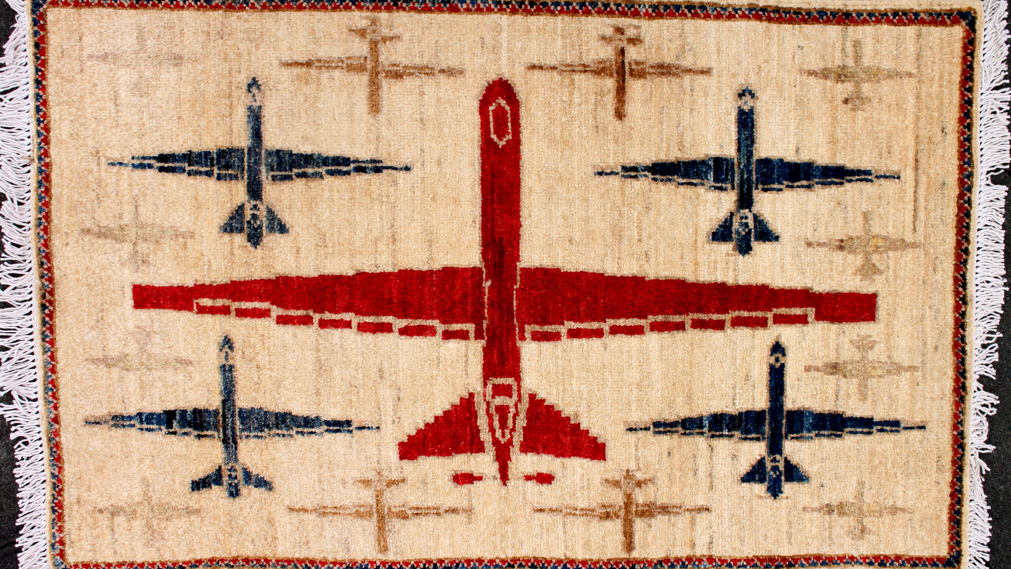 drones on rugs