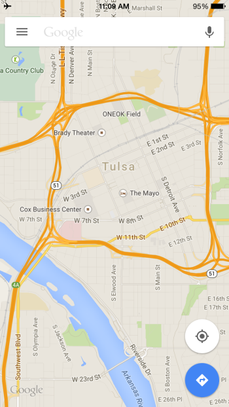 Why Google Maps tells Americans they\'re in Tulsa, Oklahoma — Quartz