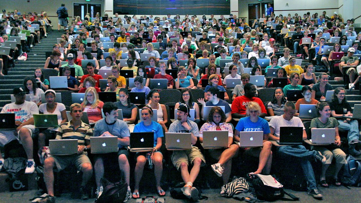 Laptops lecture