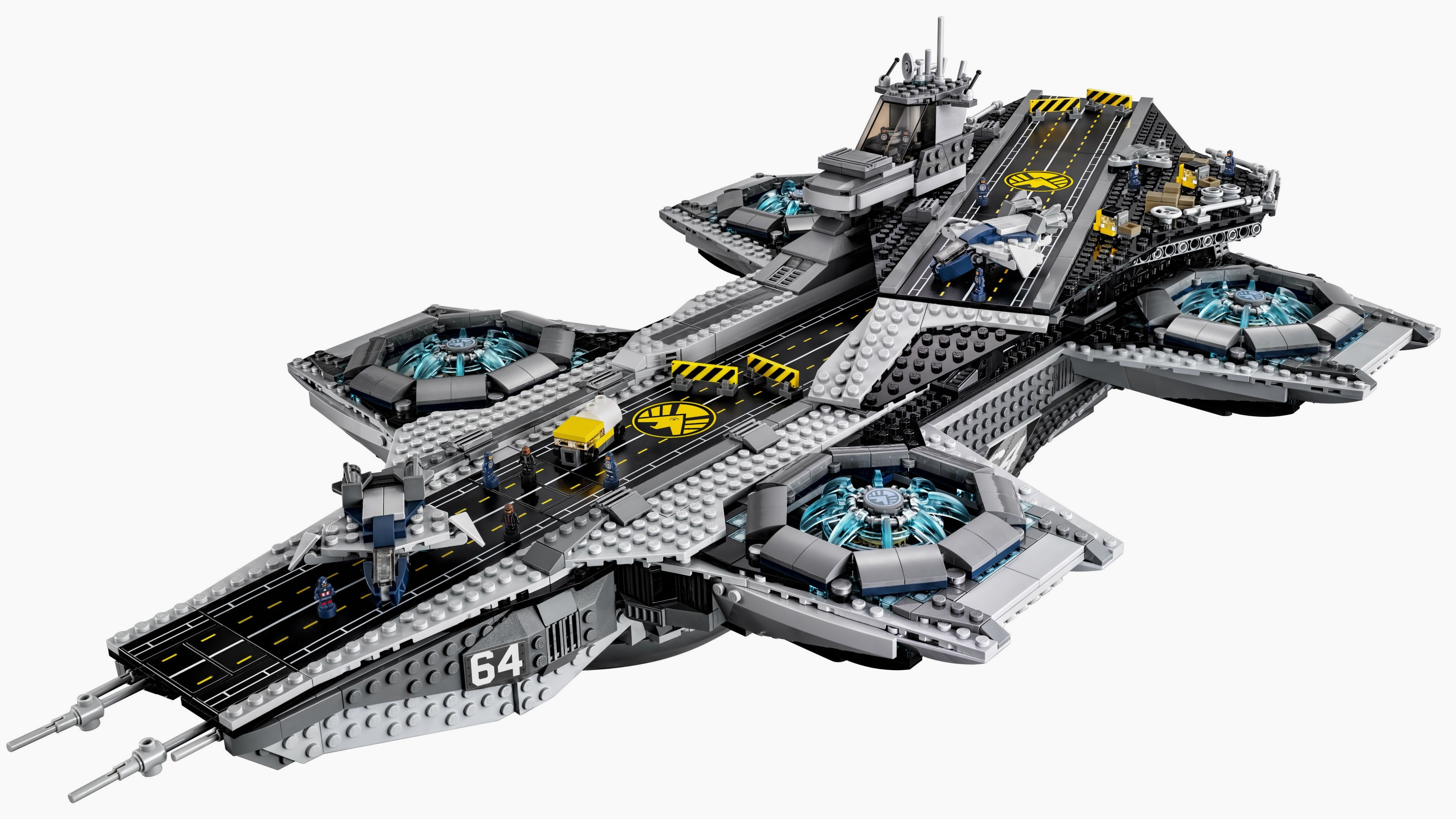 Lego Just Unveiled Its 3000 Piece Helicarrier From The Avengers No Disassemble Ideas Proposal Makes It Easy To Quartz